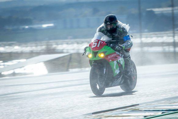Baptiste REGOUBY qualification 24H du Mans sous la pluie