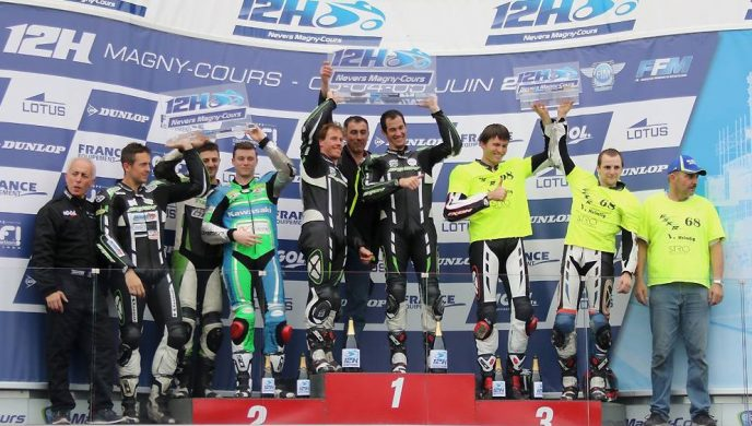 Podium 12h de Magny-Cours 2016. Photo Regis Tomasina