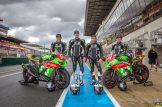 Team Motostand Endurance aux Pré mans. Photo Philippe Saccaro